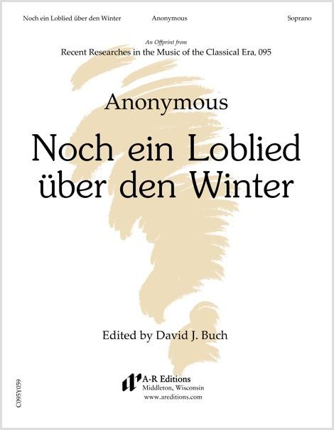 Anonymous: Noch ein Loblied über den Winter