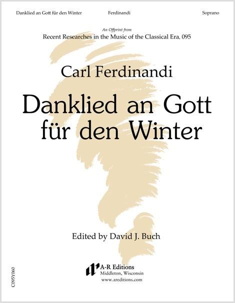 Ferdinandi: Danklied an Gott für den Winter