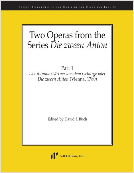 Two Operas from the Series Die zween Anton, Part 1