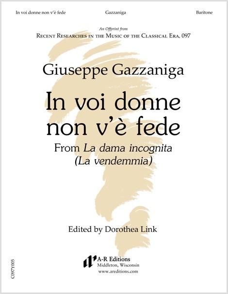 Gazzaniga: In voi donne non v'è fede