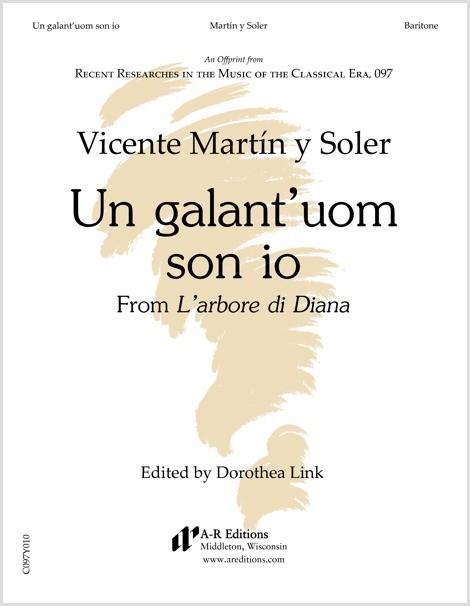 Martín y Soler: Un galant'uom son io