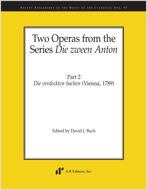 Two Operas from the Series Die zween Anton, Part 2