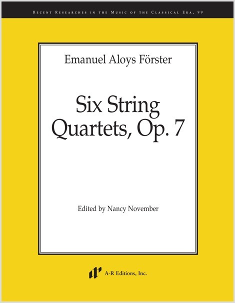 Förster: Six String Quartets, Op. 7