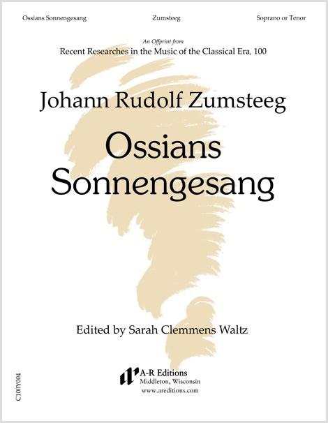Zumsteeg: Ossians Sonnengesang