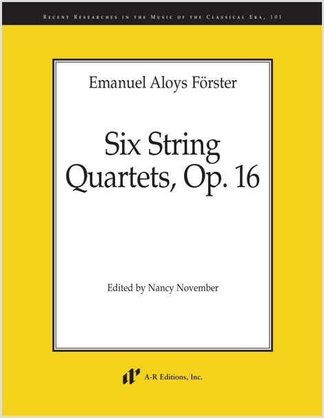 Förster: Six String Quartets, Op. 16