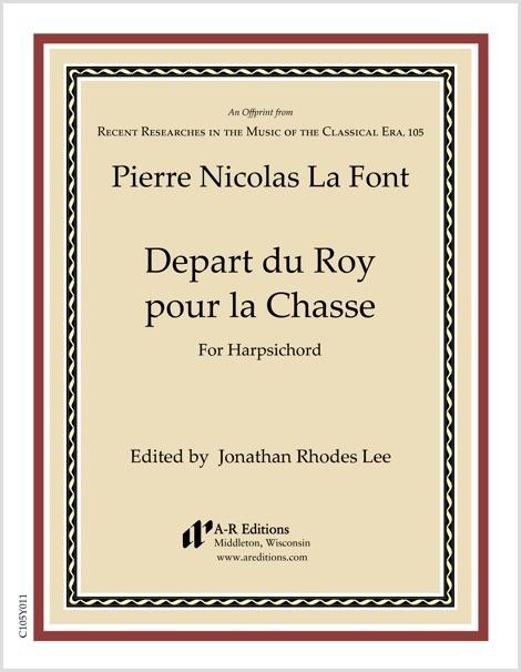 La Font: Depart du Roy pour la Chasse