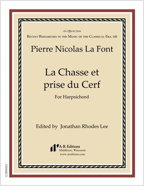 La Font: La Chasse et prise du Cerf
