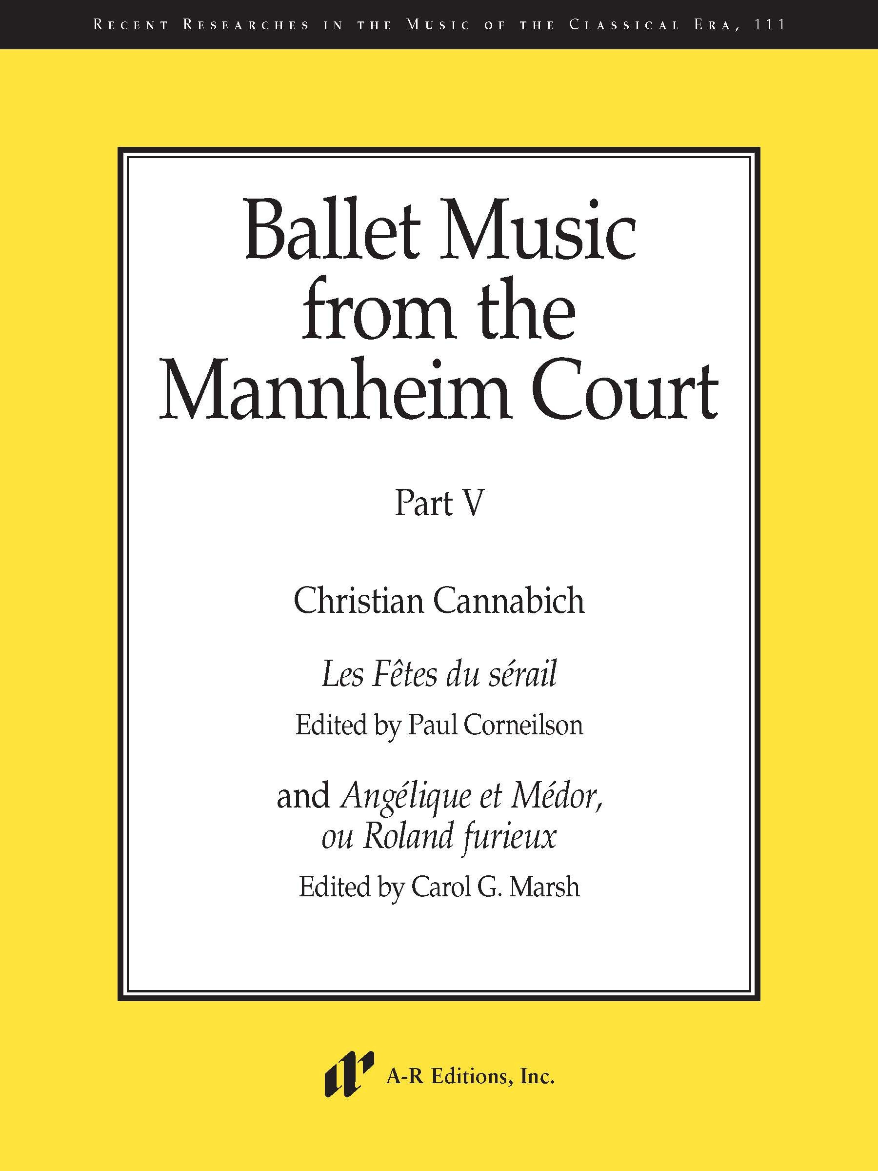 Ballet Music from the Mannheim Court, Part 5