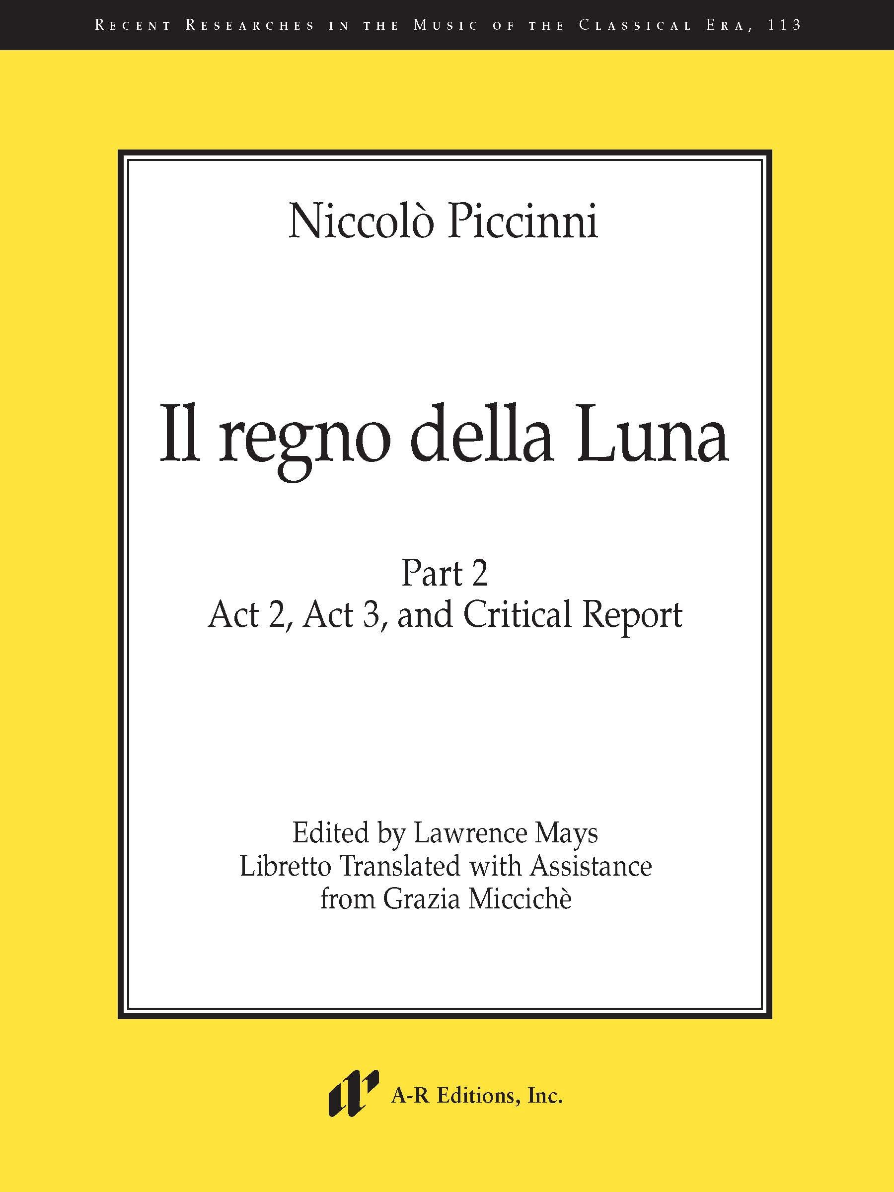 Piccinni: Il regno della Luna, Part 2