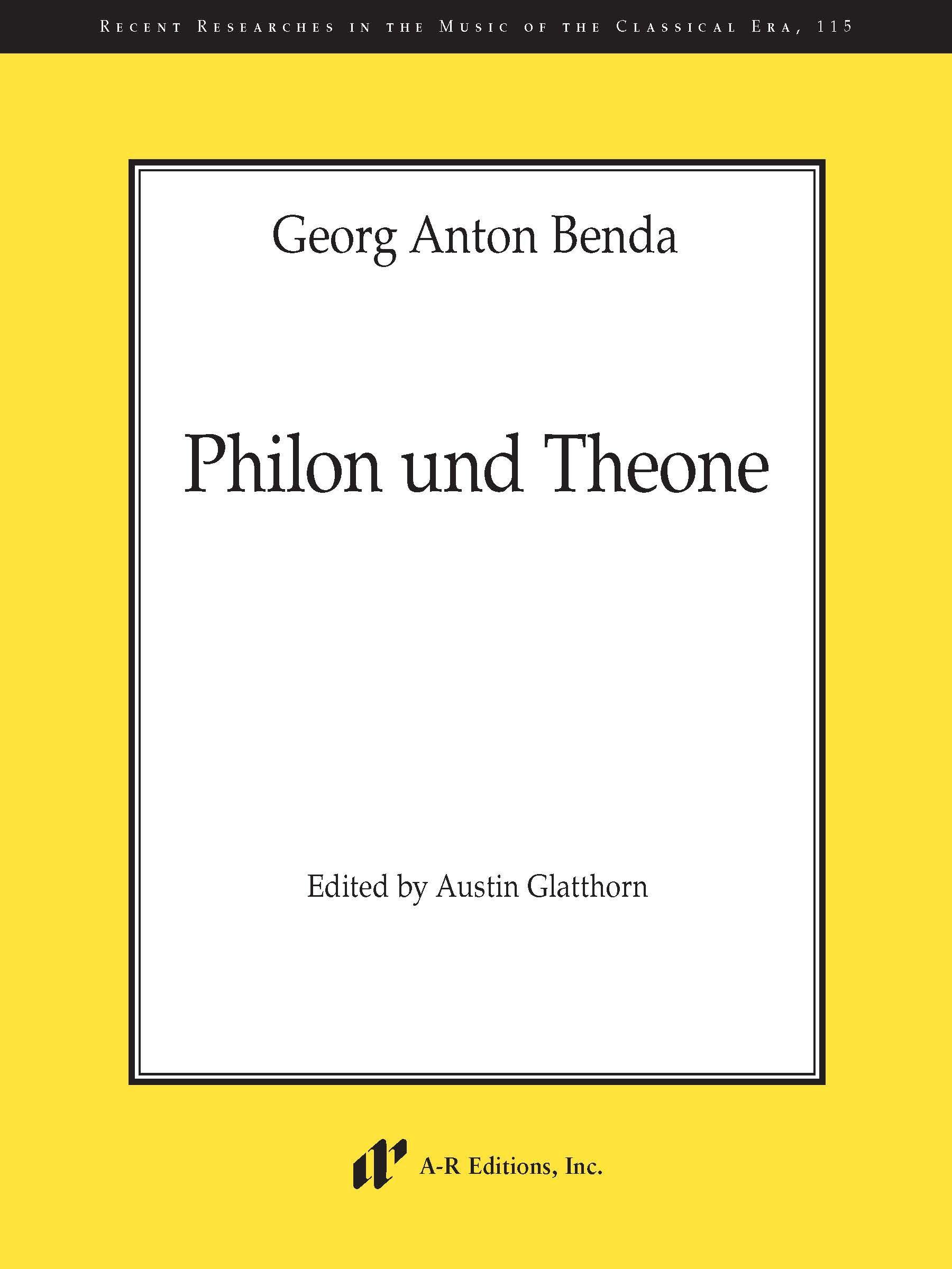 Benda: Philon und Theone