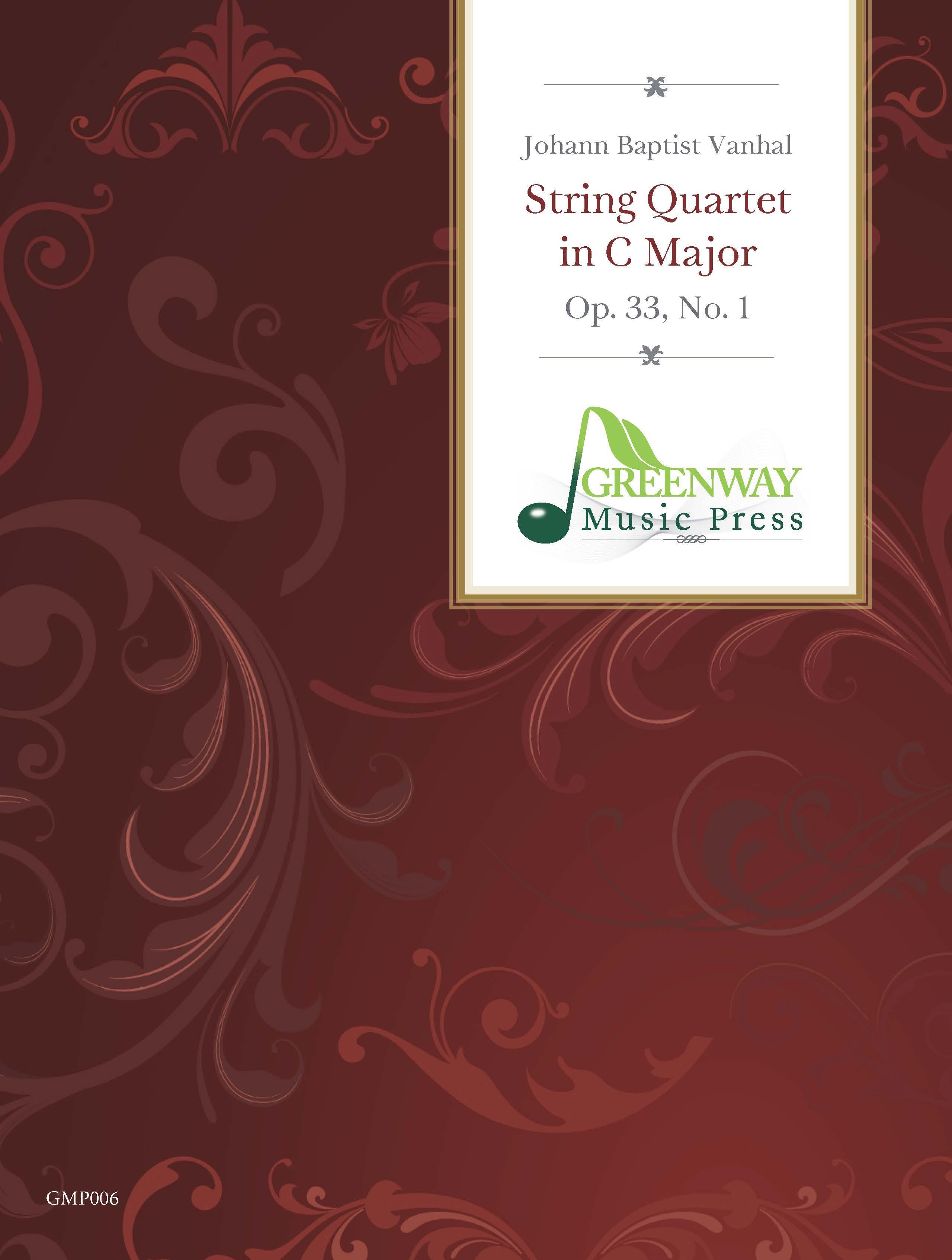 Vanhal: String Quartet in C Major, Op. 33, No. 1