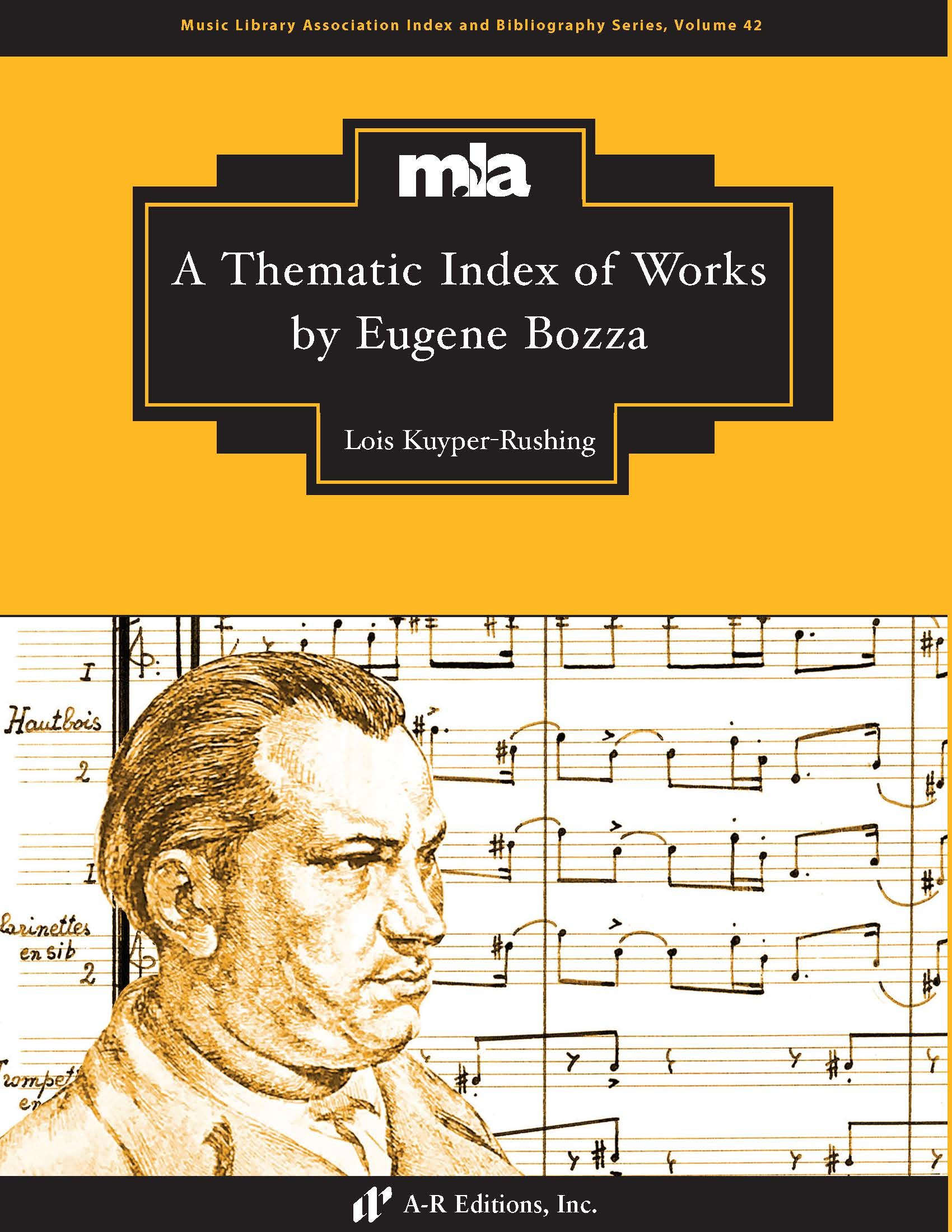 Kuyper-Rushing: Thematic Index of Works by Eugene Bozza