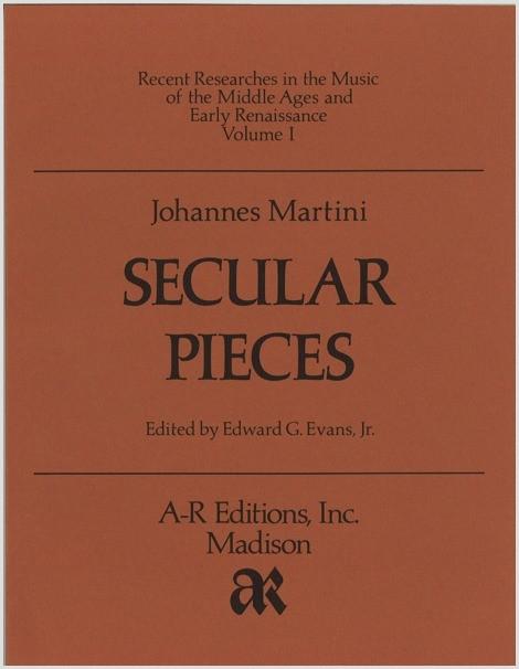 Martini: Secular Pieces