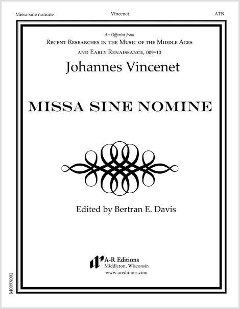 Vincenet: Missa sine nomine