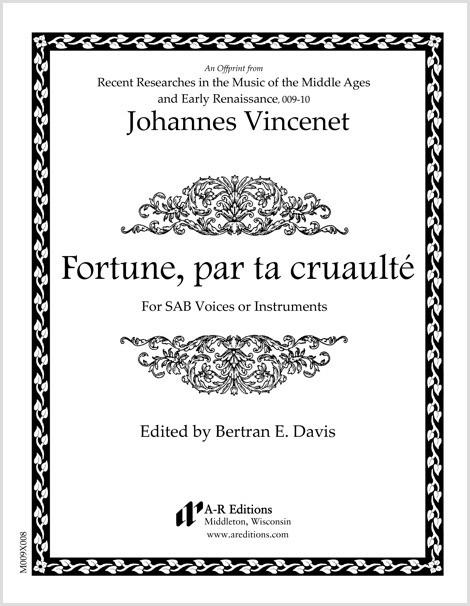 Vincenet: Fortune, par ta cruaulté