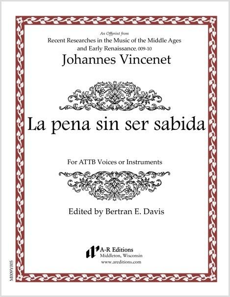Vincenet: La pena sin ser sabida