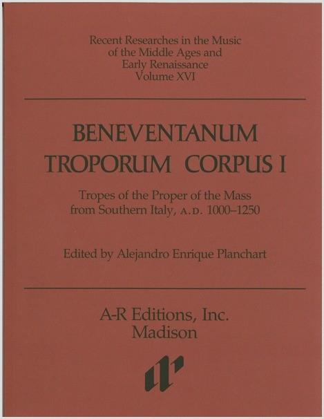 Beneventanum Troporum Corpus I