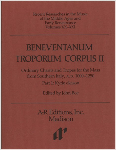 Beneventanum Troporum Corpus II, Part 1b