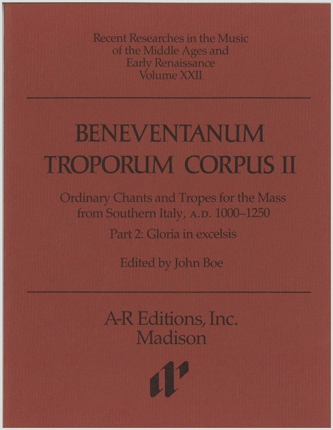 Beneventanum Troporum Corpus II, Part 2a
