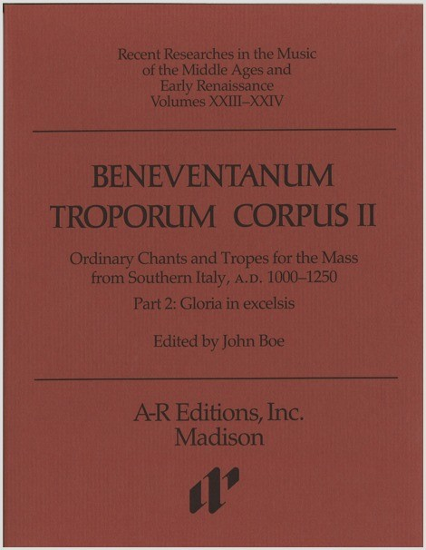 Beneventanum Troporum Corpus II, Part 2b