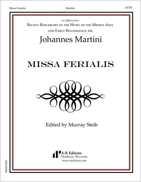 Martini: Missa Ferialis