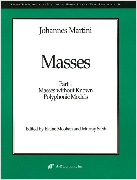 Martini: Masses, Part 1