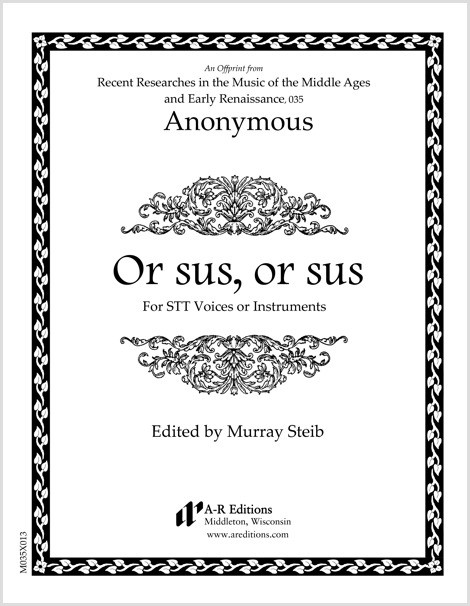 Anonymous: Or sus, or sus