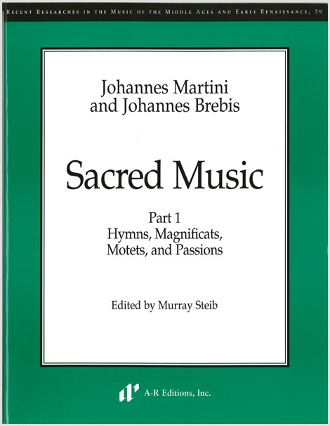 Martini: Sacred Music, Part 1