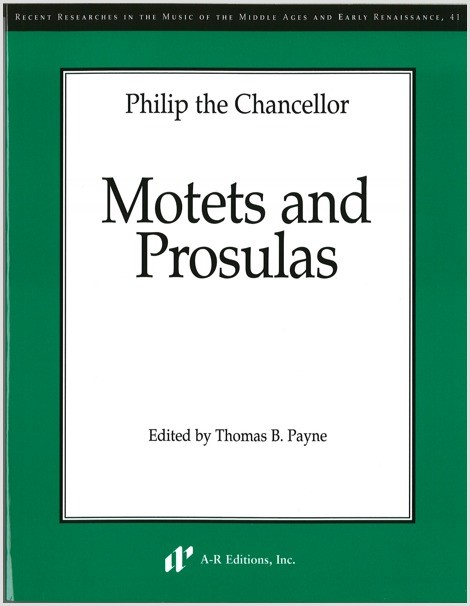 Philip the Chancellor: Motets and Prosulas