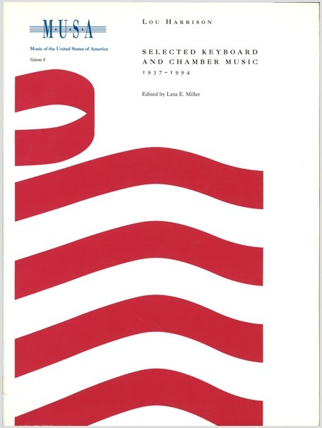 Harrison: Selected Keyboard and Chamber Music, 1937–1994