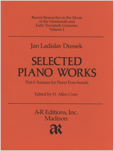 Dussek: Selected Piano Works, Part 1