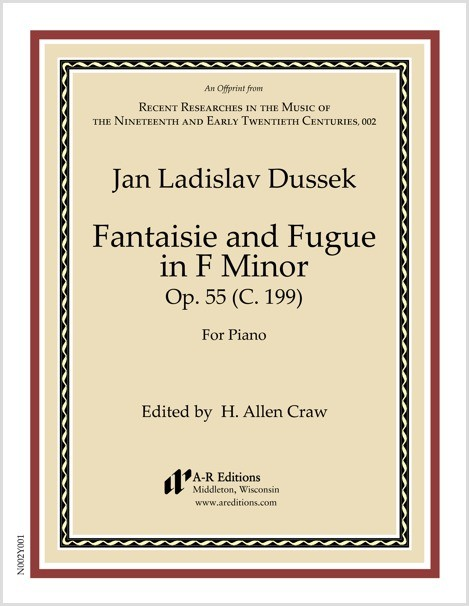 Dussek: Fantaisie and Fugue in F Minor