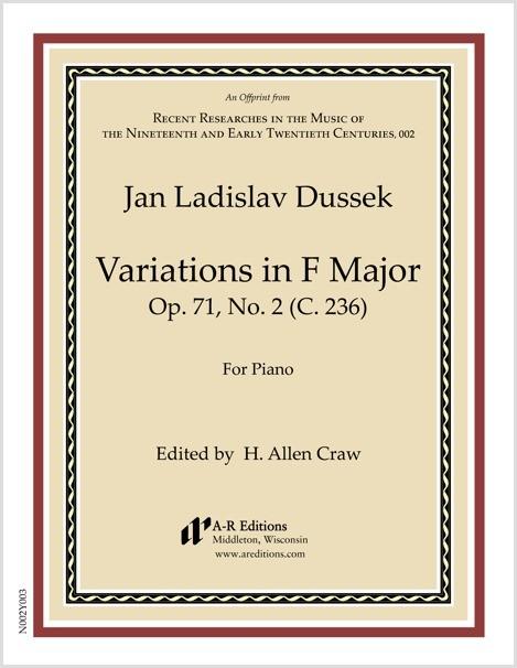 Dussek: Variations in F Major