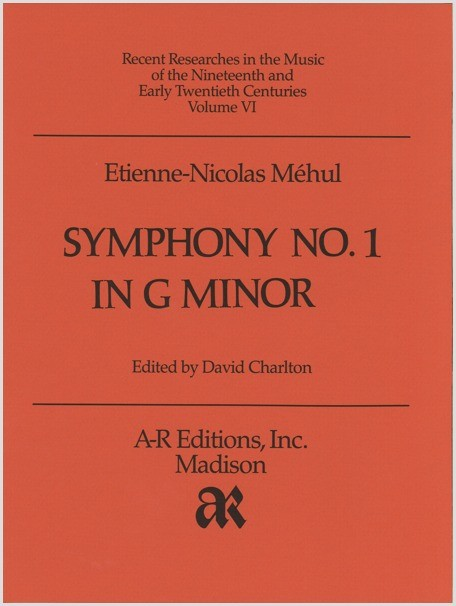 Méhul: Symphony No. 1 in G Minor
