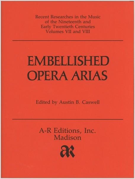 Embellished Opera Arias