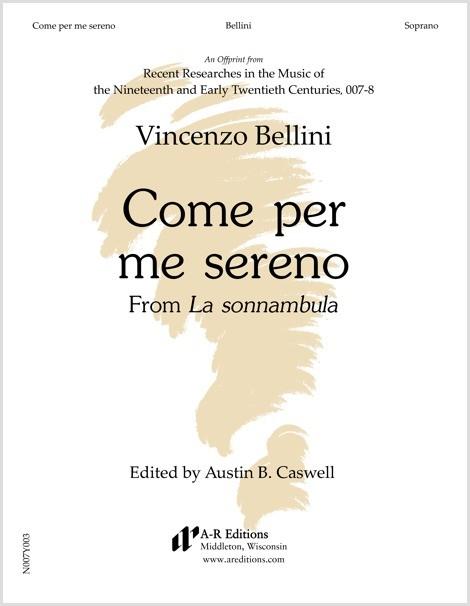 Bellini: Come per me sereno