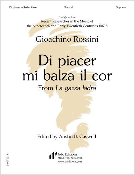 Rossini: Di piacer mi balza il cor