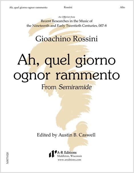 Rossini: Ah, quel giorno ognor rammento