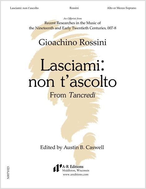 Rossini: Lasciami: non t'ascolto