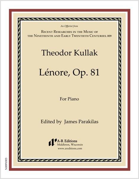 Kullak: Lénore, Op. 81