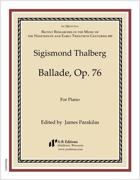 Thalberg: Ballade, Op. 76