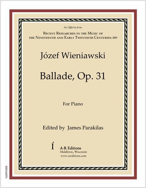 Wieniawski: Ballade, Op. 31