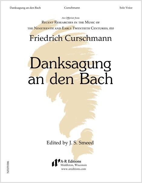 Curschmann: Danksagung an den Bach