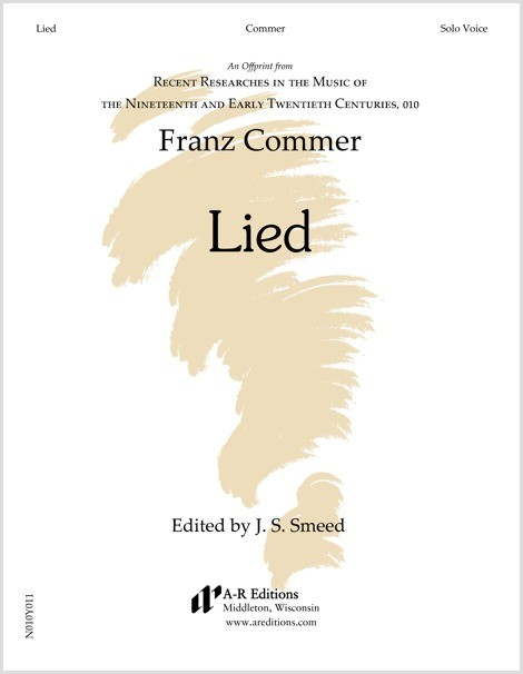 Commer: Lied
