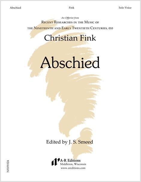 Fink: Abschied