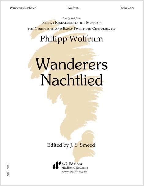 Wolfrum: Wanderers Nachtlied
