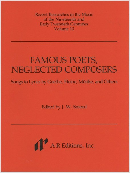 Famous Poets, Neglected Composers
