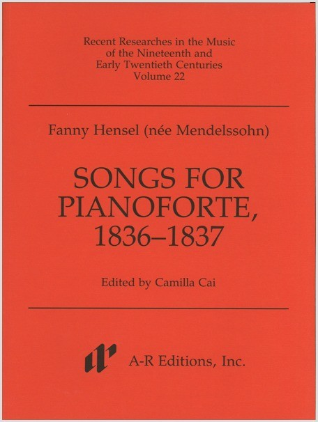 Hensel, F.: Songs for Pianoforte, 1836–1837