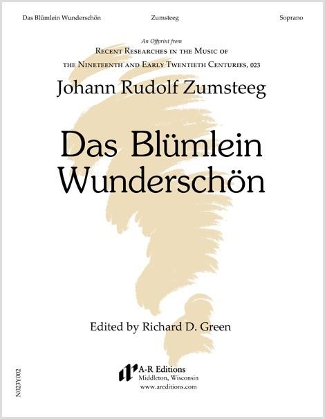 Zumsteeg: Das Blümlein Wunderschön