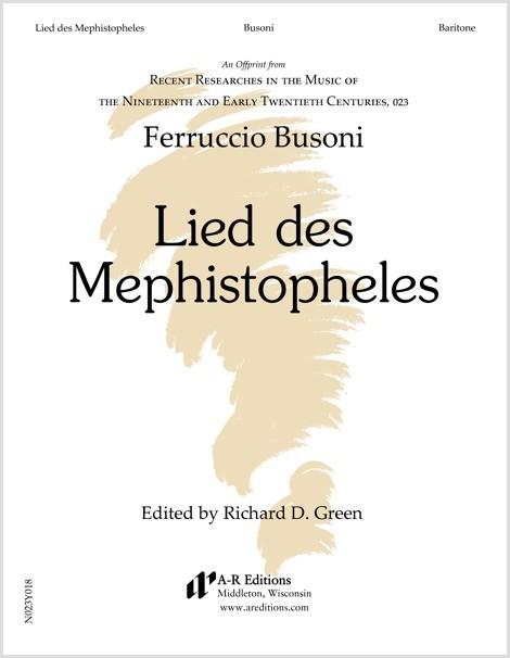 Busoni: Lied des Mephistopheles